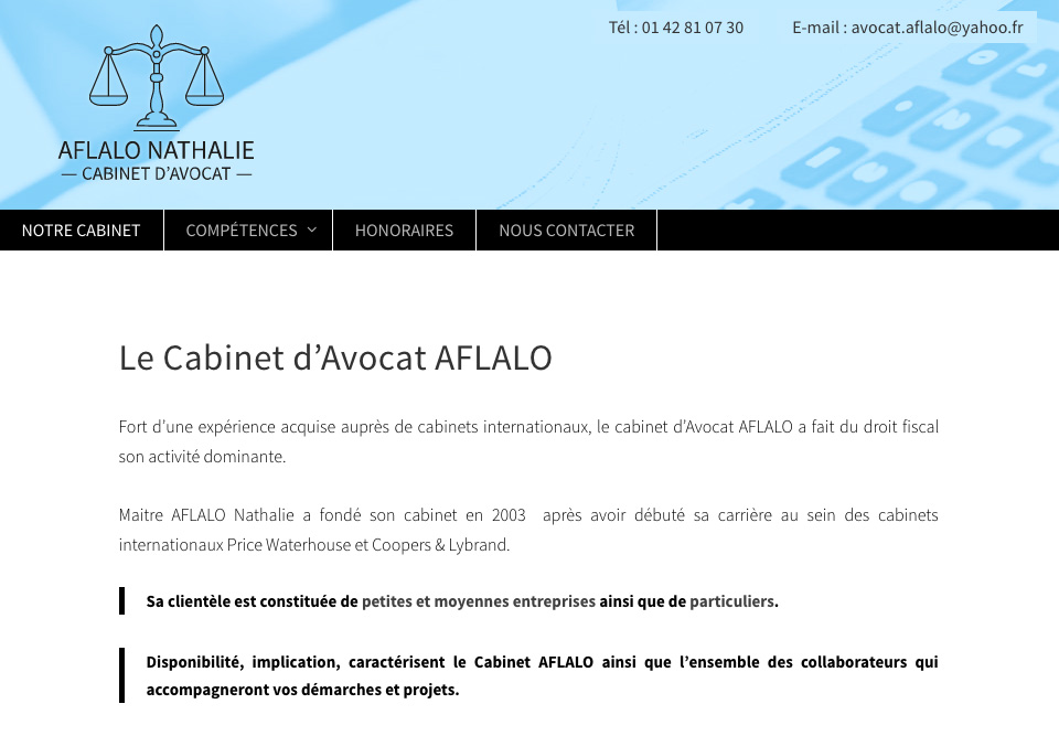 Cabinet Aflalo